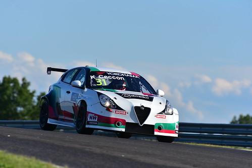Kevin Ceccon, Alfa Romeo Giulietta TCR, FIA WTCR World Touring Car Cup, Slovakia Ring 2019