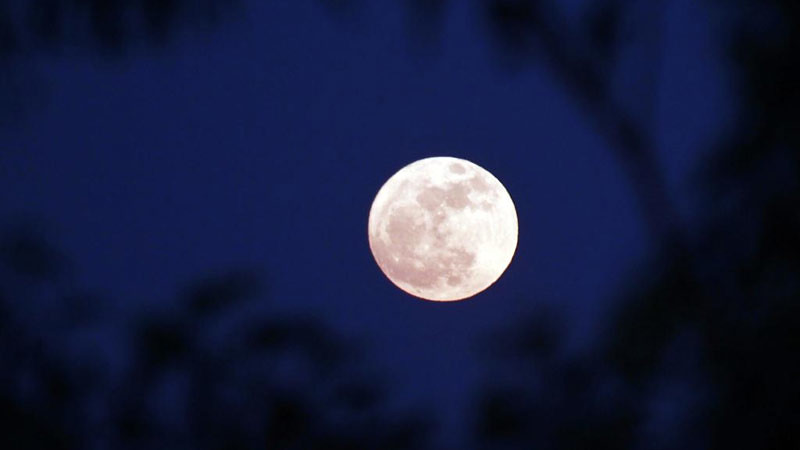 Fenomena Bulan Biru tidak terkait dengan warna Bulan