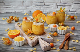 ...Frangollo - a dessert made of corn porridge
