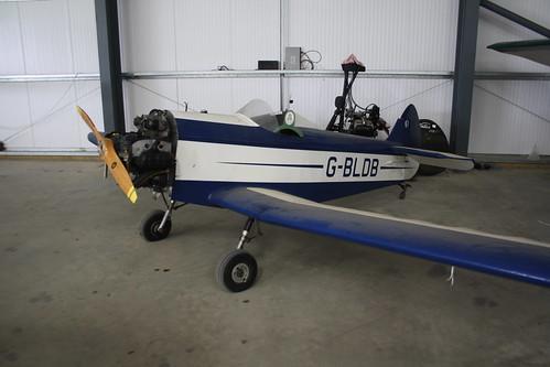 G-BLDB Taylor JT1 Monoplane [PFA 055-10506] Old Warden 090618