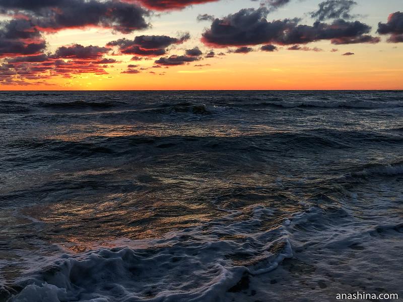 Балтийское море, Янтарный, Калининградская область