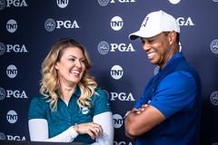 2019 PGA Championship - Tiger and Amanda