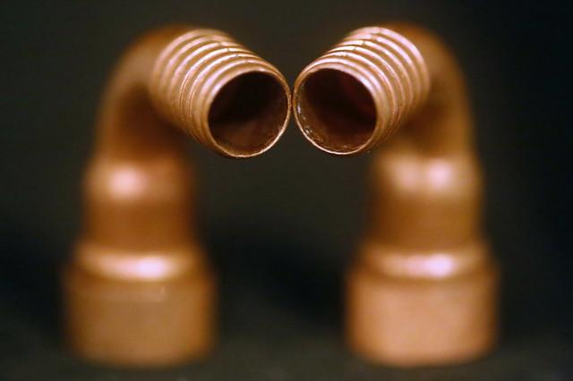 Le couple Copper en tête à tête