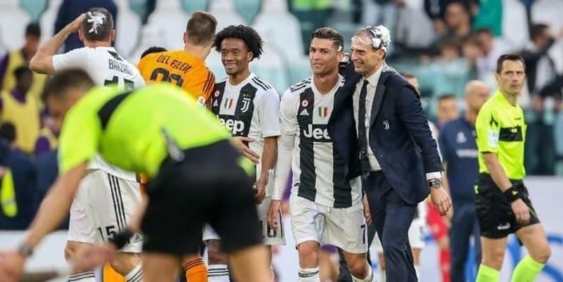 Ada Permintaan Khusus Ronaldo untuk Allegri yang Hengkang