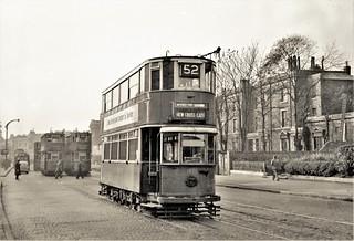 A tramway in decline