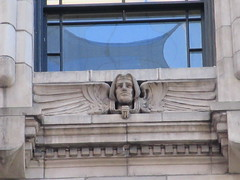 New Amsterdam Under Window Winged Gargoyle 8439