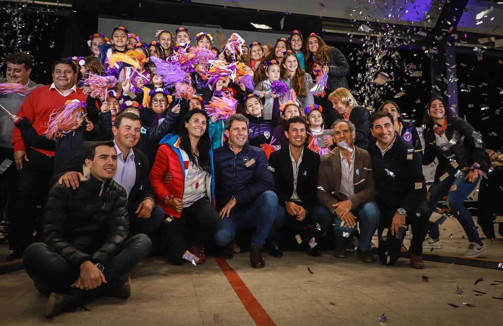 2019-05-18 PRENSA: Richet y Zapata inauguró su cancha sintética de hockey