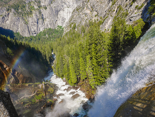 Rainbow below Vernal Falls | by snackronym