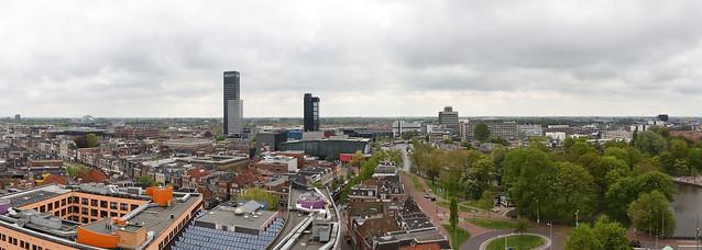 Leeuwarden panorama vanaf Oldehove.