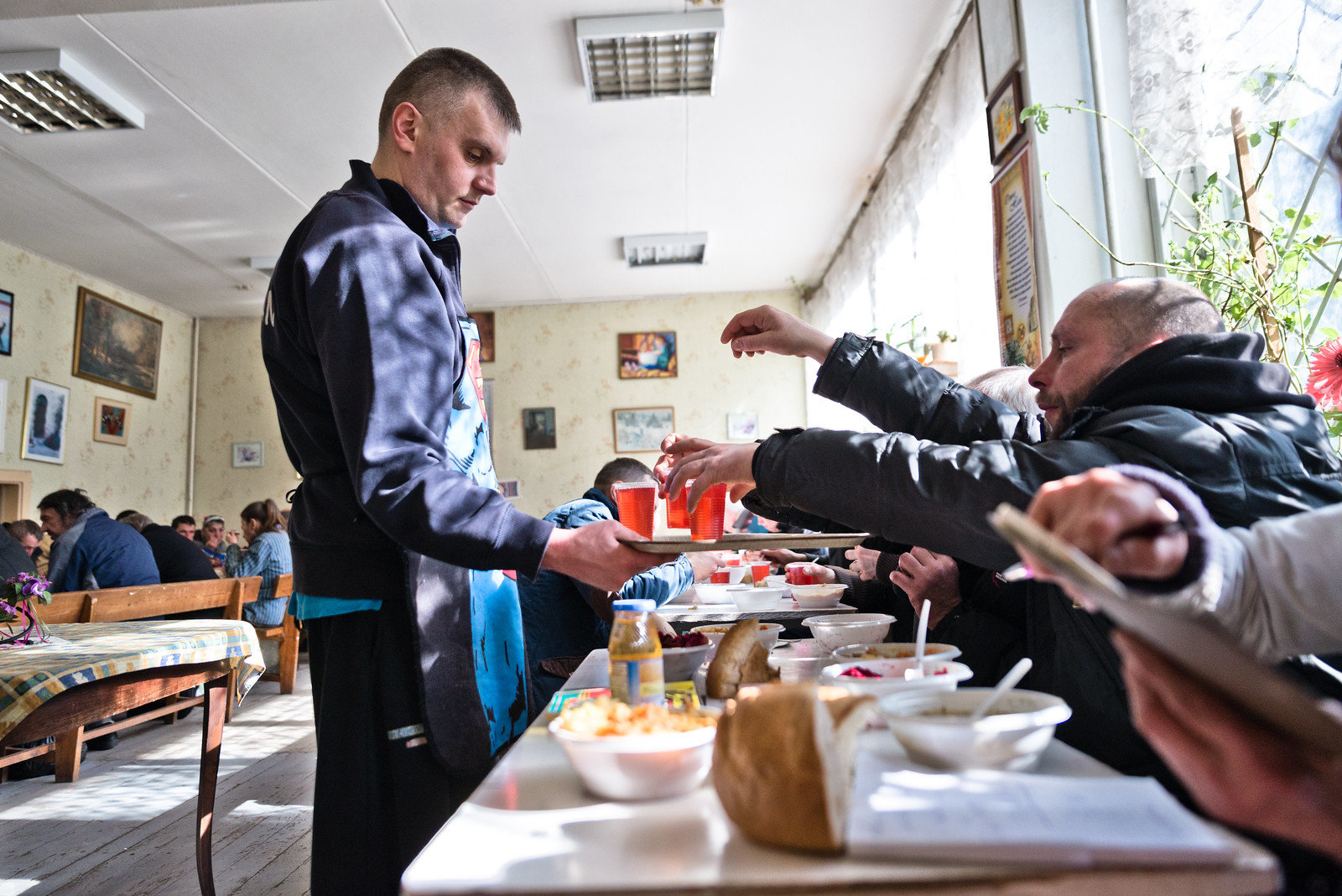 "Soup kitchen in Minsk run by Belarusian relief organisation ""Otklik"""