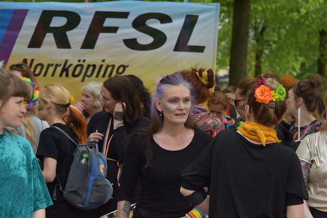 Prideparaden i Norrköping 2019