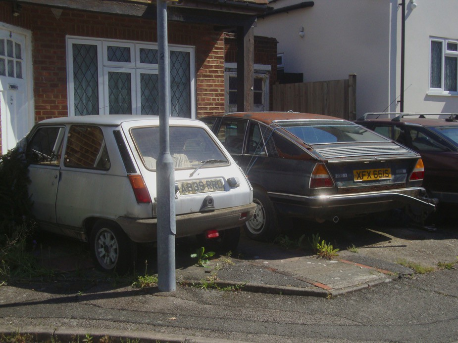 Abandoned Renault 5 & Lancia Gamma
