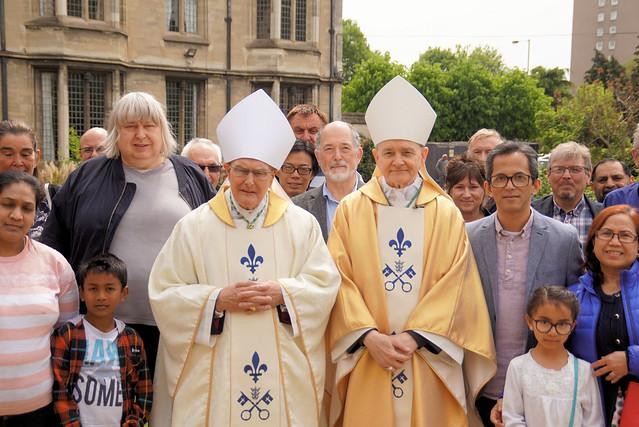 Apostolic Nuncio visit to East Anglia May 2019
