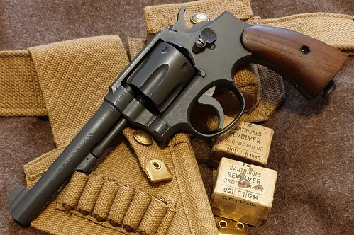 1942 S&W Victory in .38/200 | by Elbæk