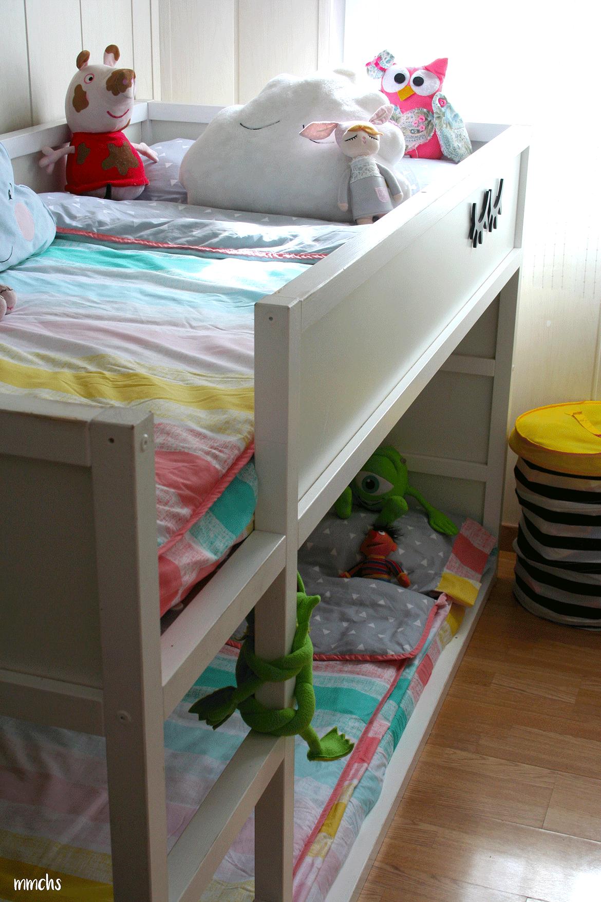 litera infantil habitación compartida
