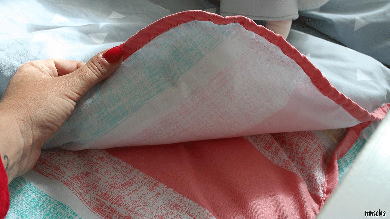 saco infantil de Burrito Blanco