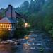 Nightfall in Monschau by Wim Boon Fotografie