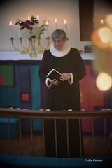 Le Révérend de l'Église Danoise de Paris Selma Ravn