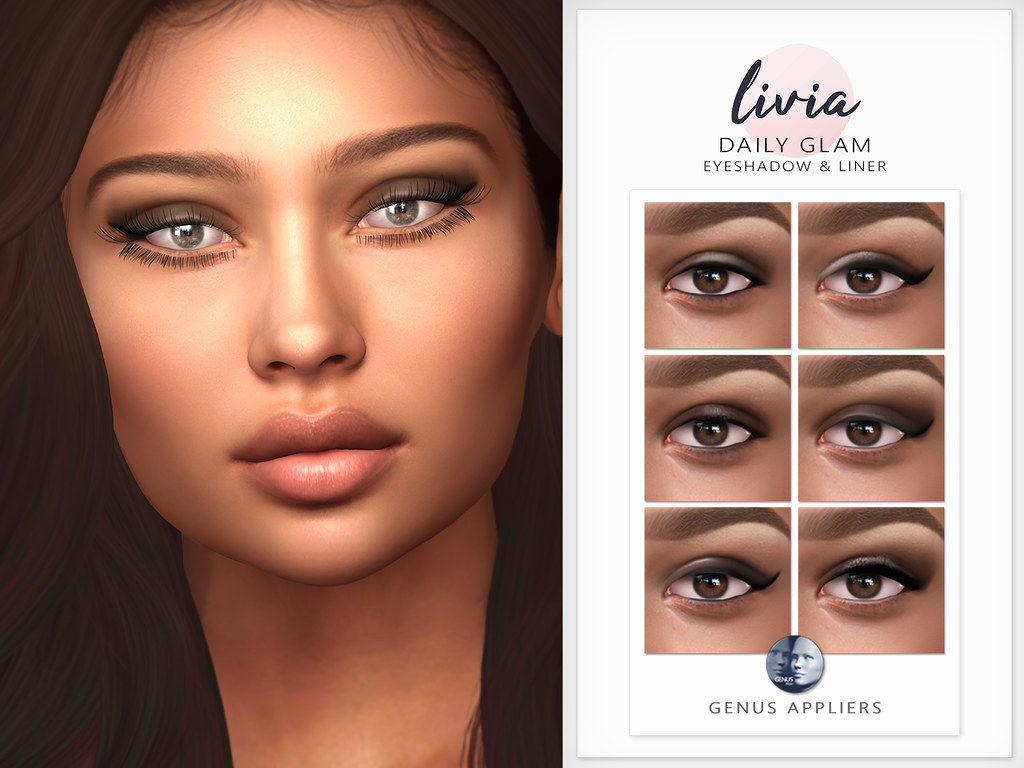 LIVIA // Daily Glam Eyeshadow & Liner [Genus]