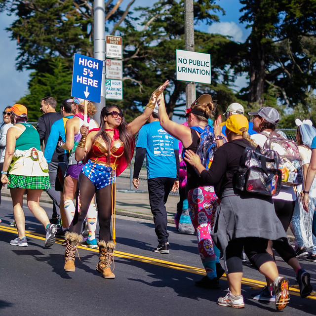 Bay To Breakers 2019: distractingly unsteps desertion
