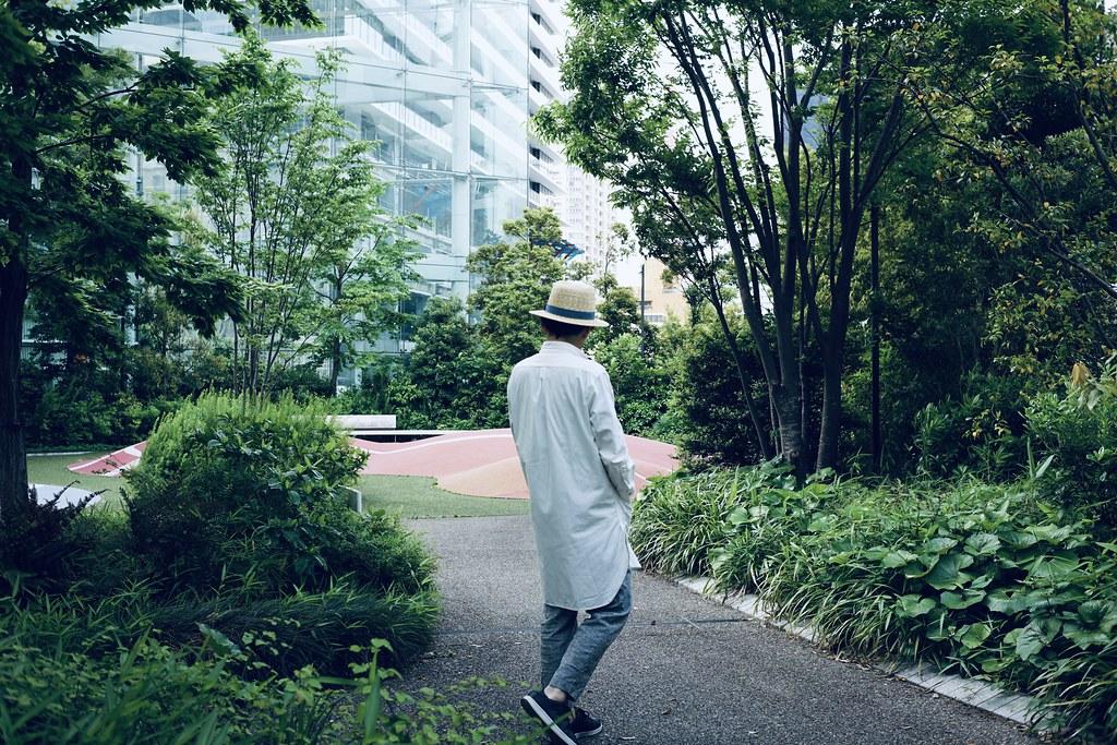 田中帽子店×亀田縞_coordinate4