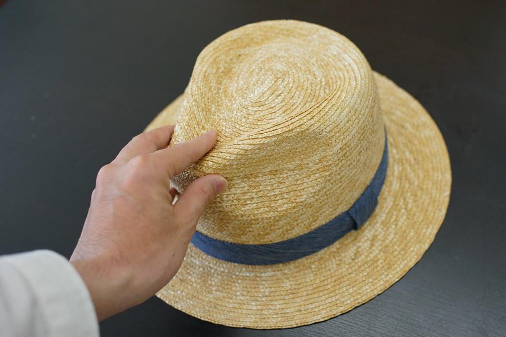 田中帽子店×亀田縞_5