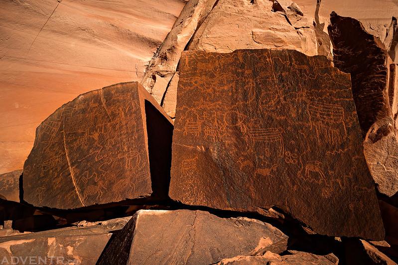 Split Boulder Petroglyphs