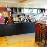Inside Costa Coffee at the Docks in Preston