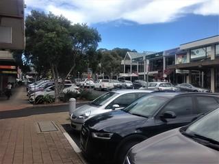 Mona Vale shopping strip, Sydney
