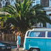 Elisa, the Palm Tree and the Van by timothy.houle