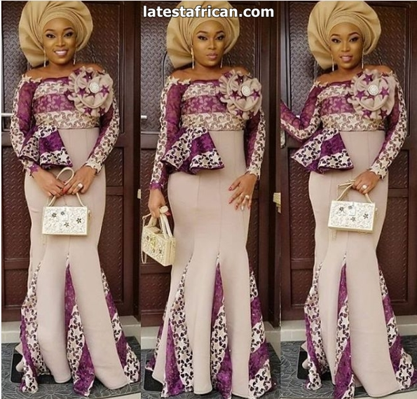 Latest African dresses for wedding guests