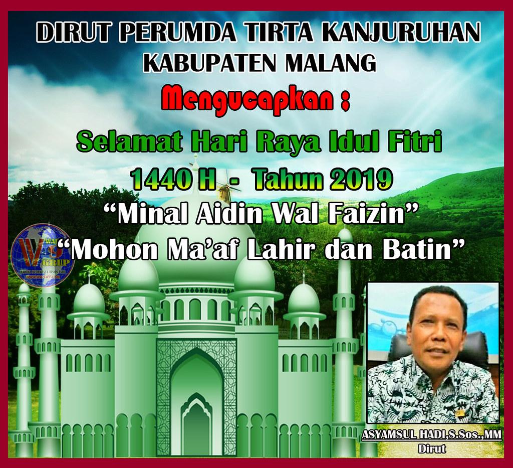 Ucapan Hari Raya Idul Fitri 1440 H Kabupaten Malang