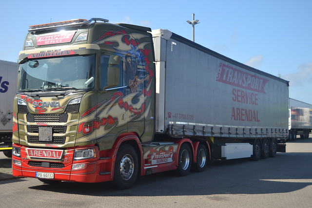 Scania New Generation - Scania S 730 V8 - Transport-Service Arendal Norwegen - N  PD 60732 - Motörhead