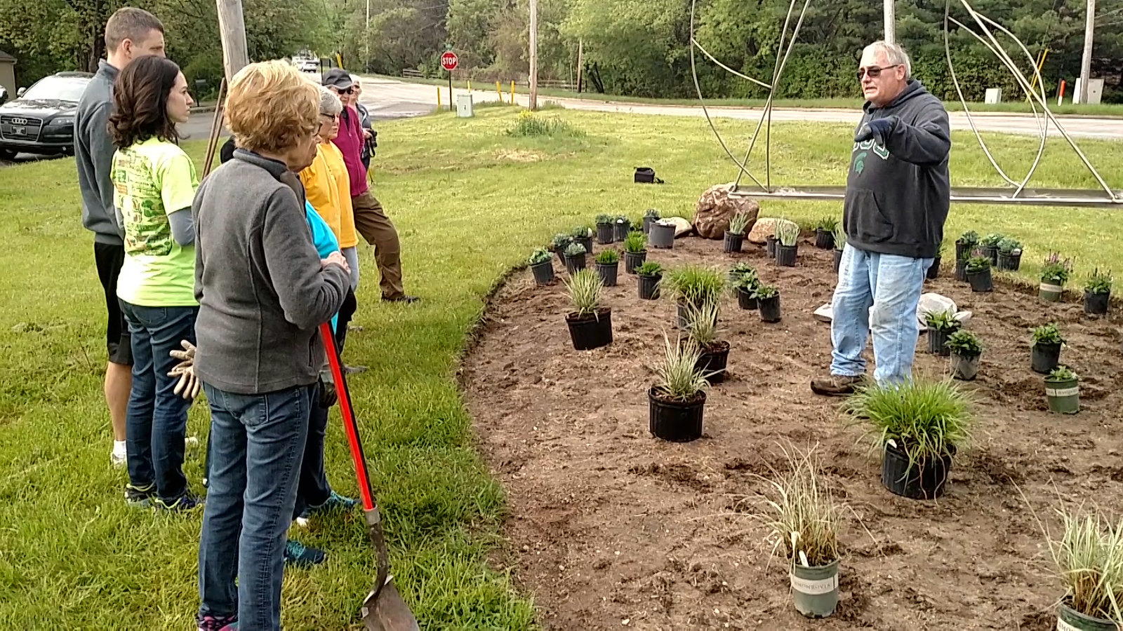 Future Memorial Garden in Haslett