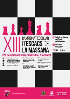 2019 Torneig Escolar Escacs La Massana