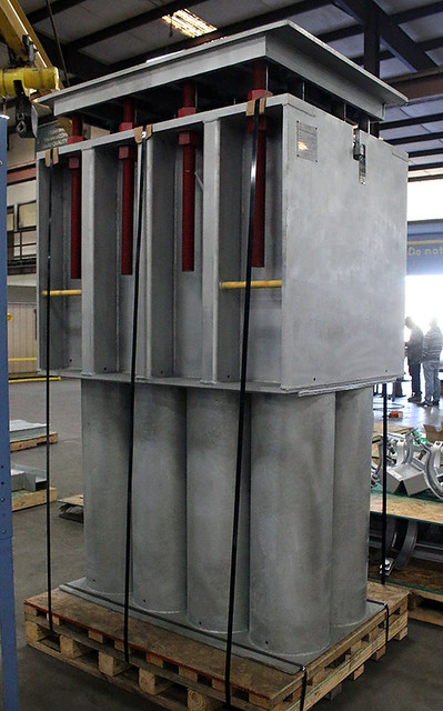 Custom Big Ton Springs Designed for a 122,000 lb. Load for a Chemical Plant