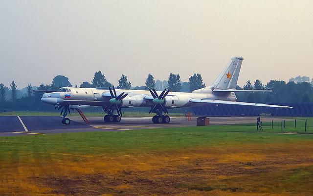 Russian Air Force Tupolev TU-95MS 23 black