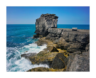 PULPIT ROCK AT PORTLAND BILL | by Barry Haines