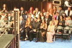 Becky Lynch, Seth Rollins, Lita, Trish Stratus