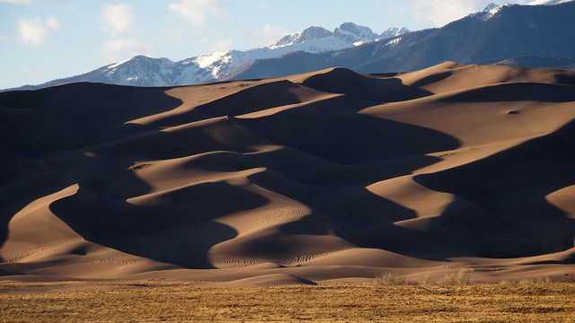 Great Sand Dunes Evening Shadows