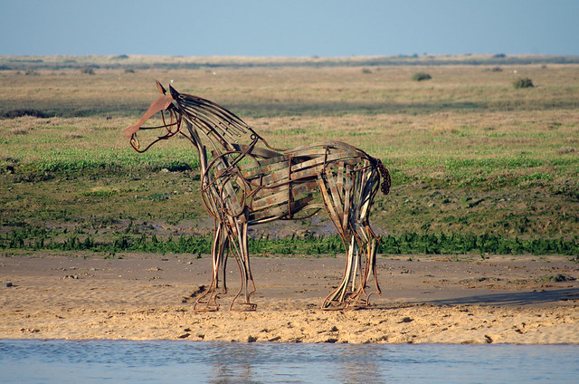Wells Next The Sea horse sculpture returns