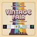 Vintage Fair 2019 Poster - FINAL