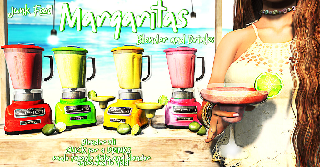 Junk Food – Margaritas Blender & Drinks Ad