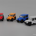 New Jeeps by BrickDesigners