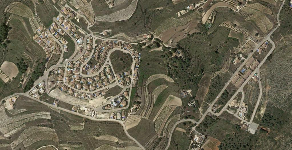 castellóns, alicante, castellers, después, urbanismo, planeamiento, urbano, desastre, urbanístico, construcción, rotondas, carretera
