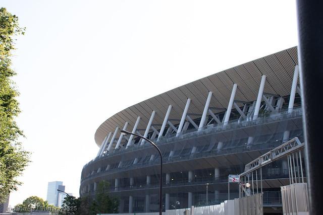 20190508 建設中の新国立競技場 / Under Construction of New National Stadium
