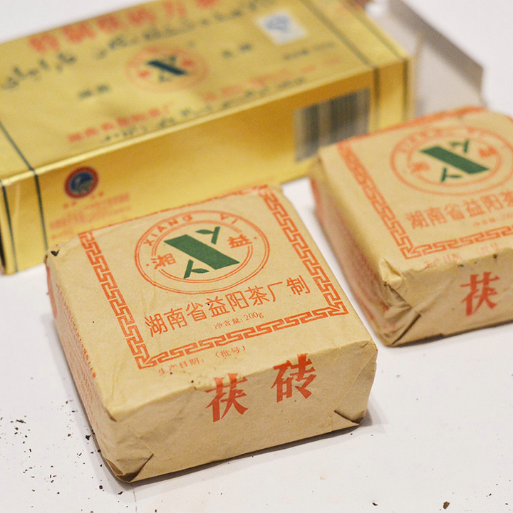 "2006 XiangYi ""Te Zhi Fang Cha"" (Specially Made Brick Tea) 400g Dark Tea Hunan"