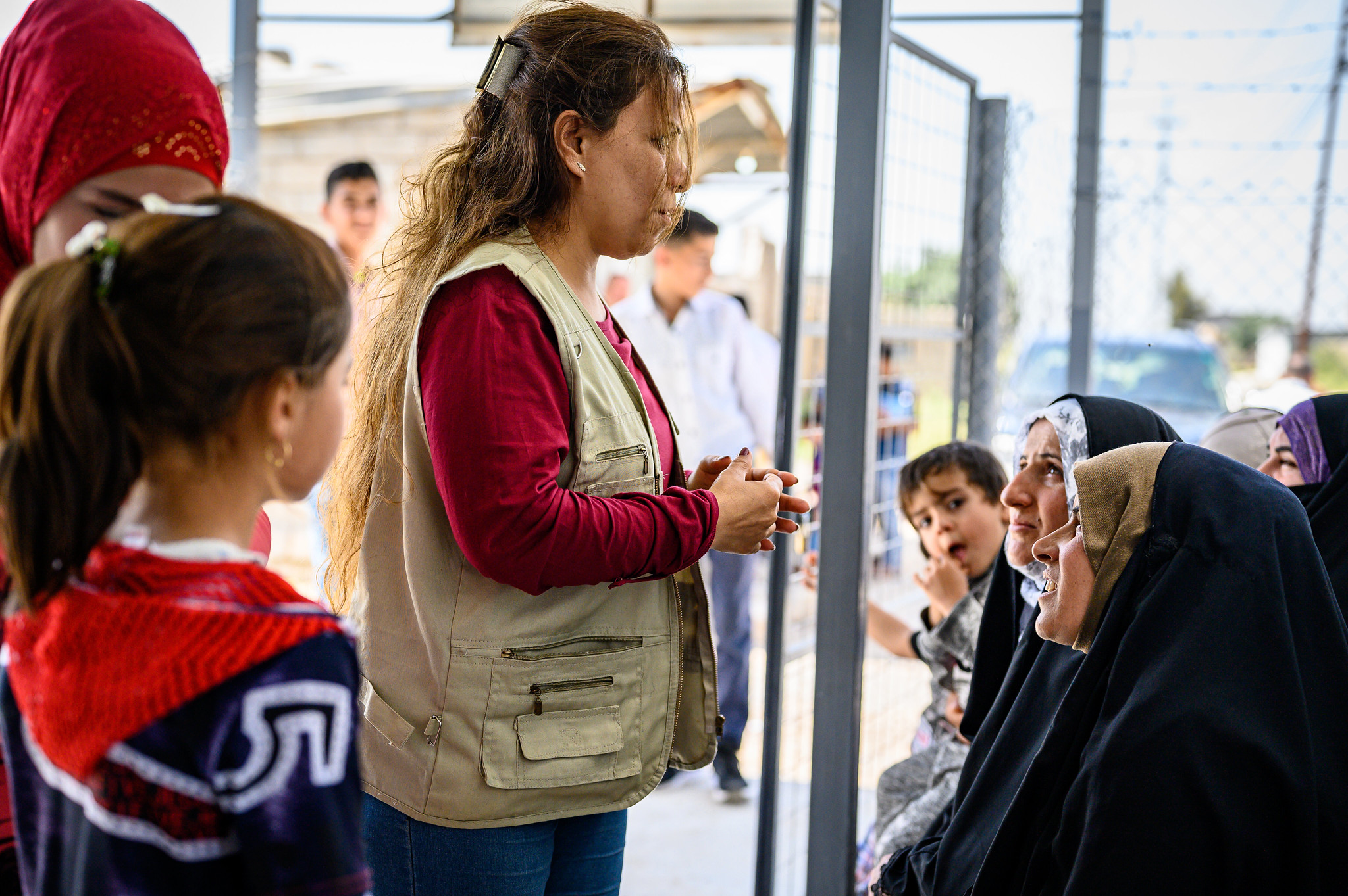 Psychosocial support and basic healthcare in Iraq