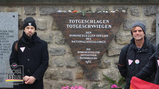 4.5.2019: Gedenkfeier im ehemal. KZ Mauthausen