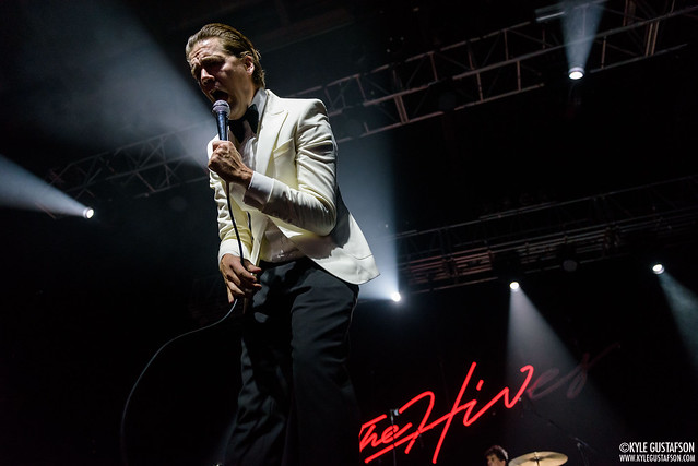 The Hives Perform at Franklin Music Hall in Philadelphia